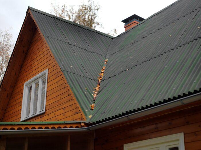 Крыша ондулин